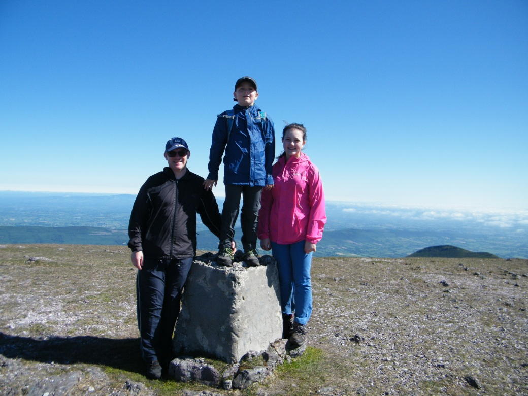 County High Point of Tipperary #GaltymoreMountain918m.