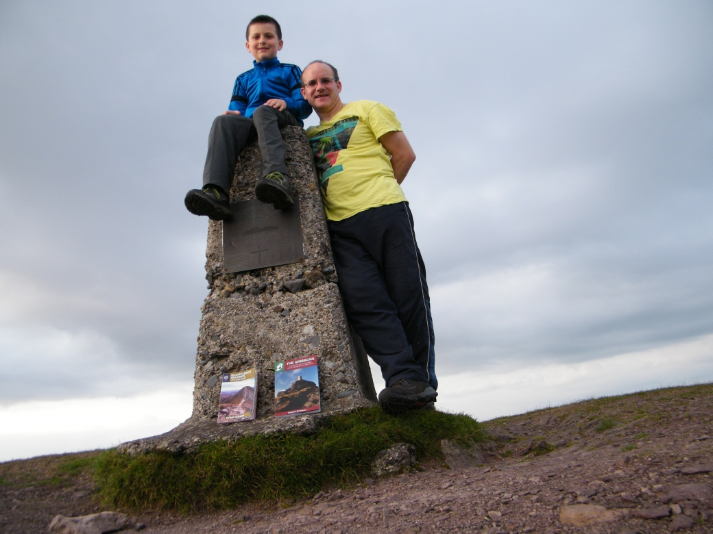 Highest point of Waterford #Knockmealdown793m.