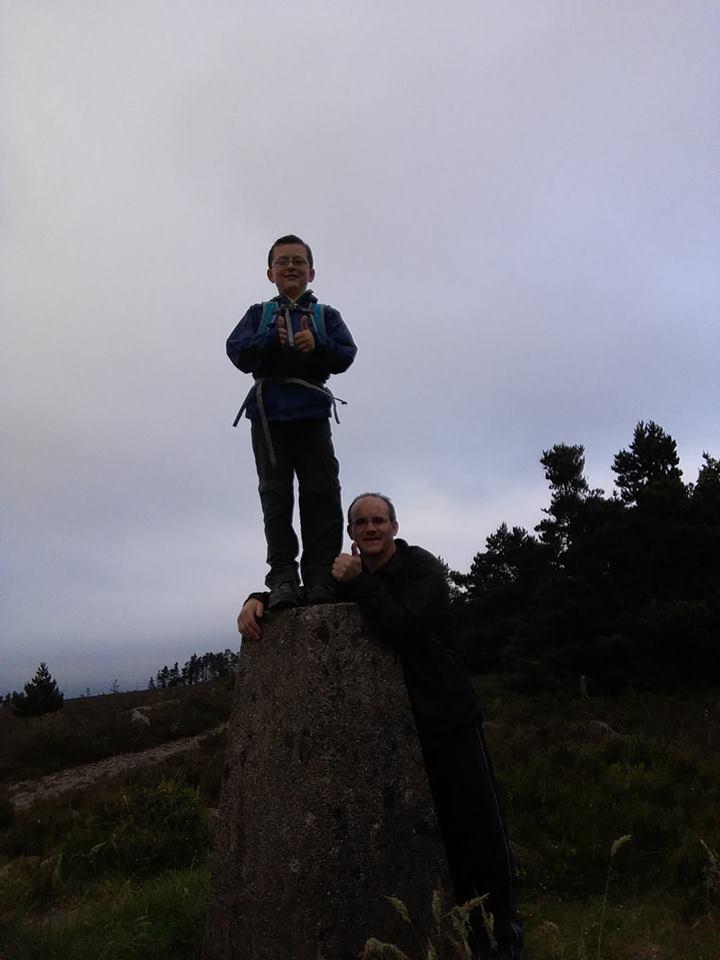 Knocknaskagh the highest point in the Nagles #Knocknaskagh427m